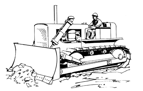 bulldozer-drawing-black-and-white-dromgff-top-clipart